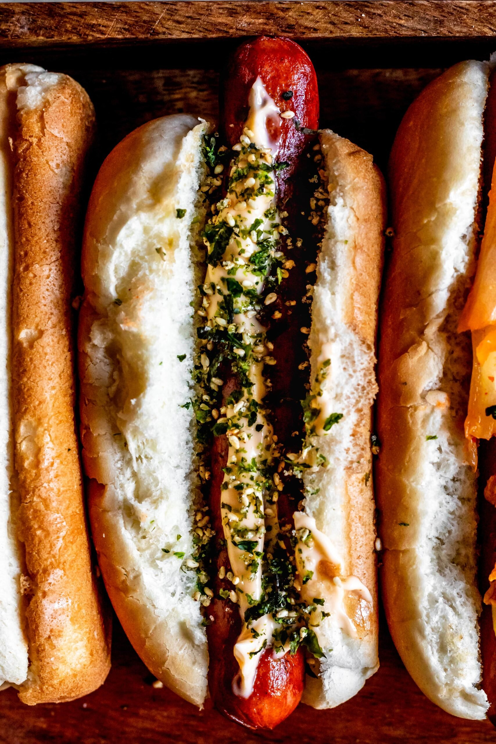 asian hot dogs