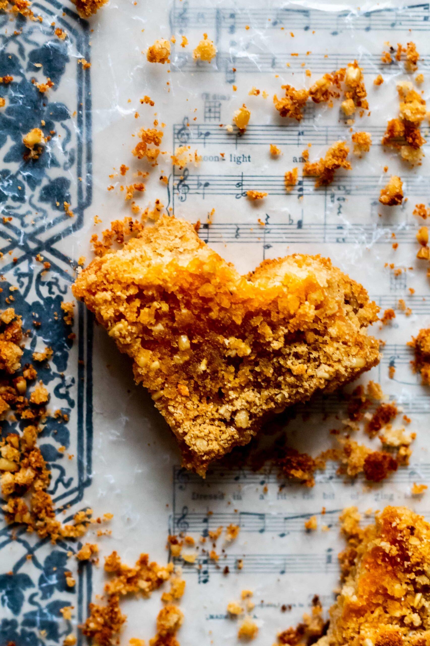 gluten free oatmeal apricot bars