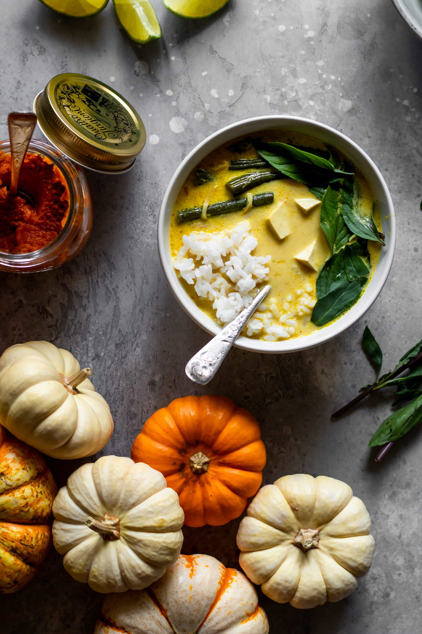 pumpkin tofu curry