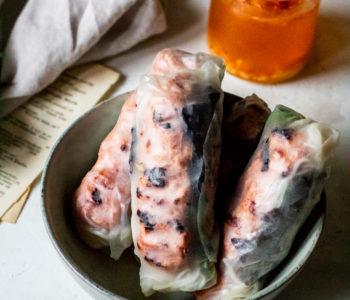nem nuong spring rolls