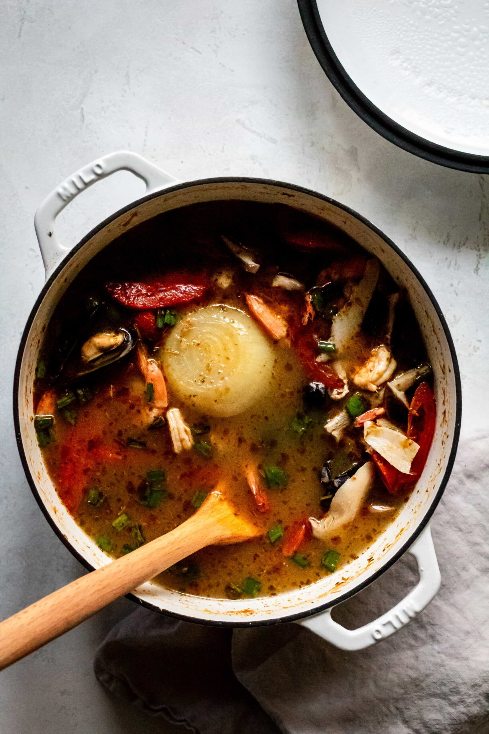 Tom Yum Soup Cooking Therapy