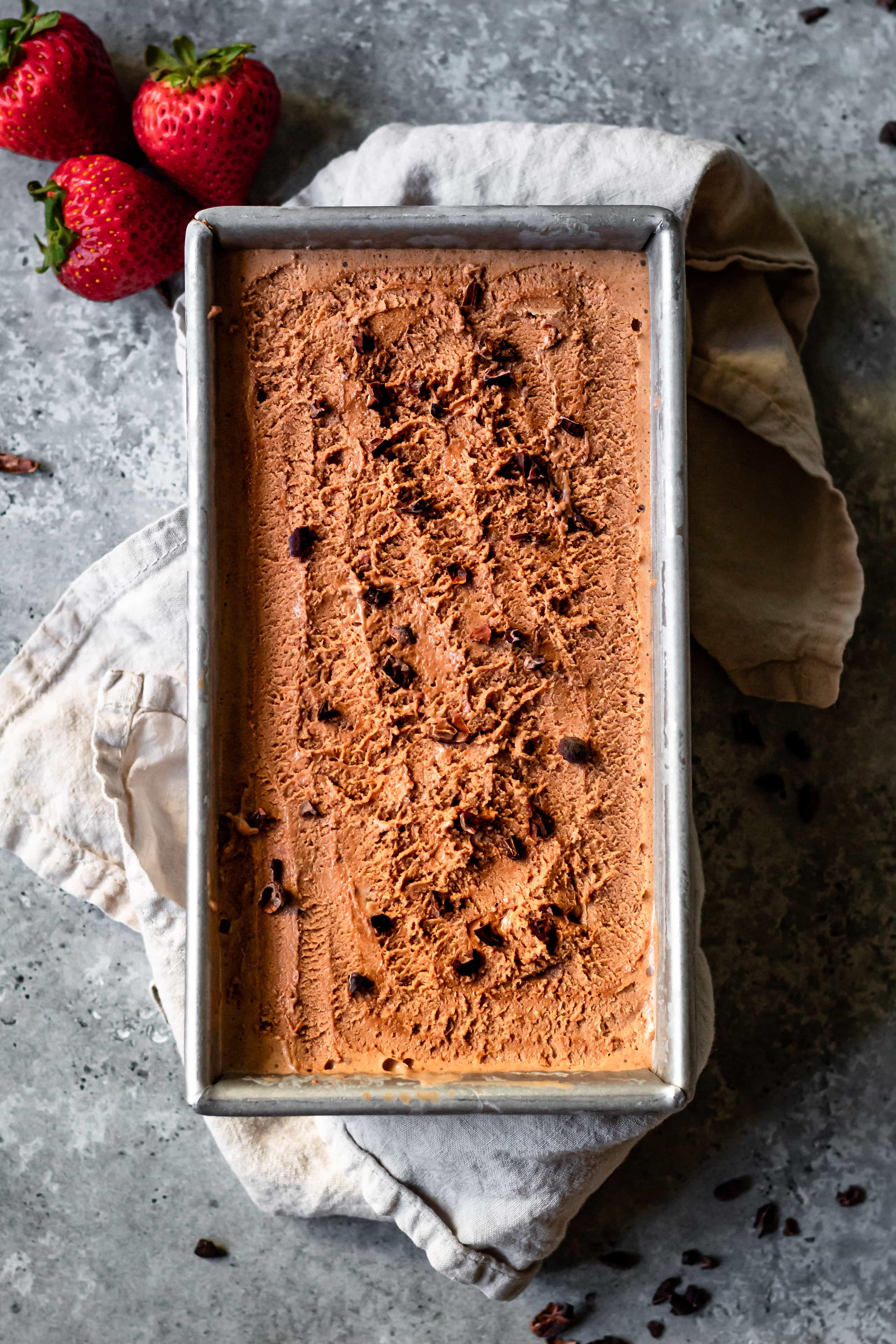 chocolate strawberry ice cream