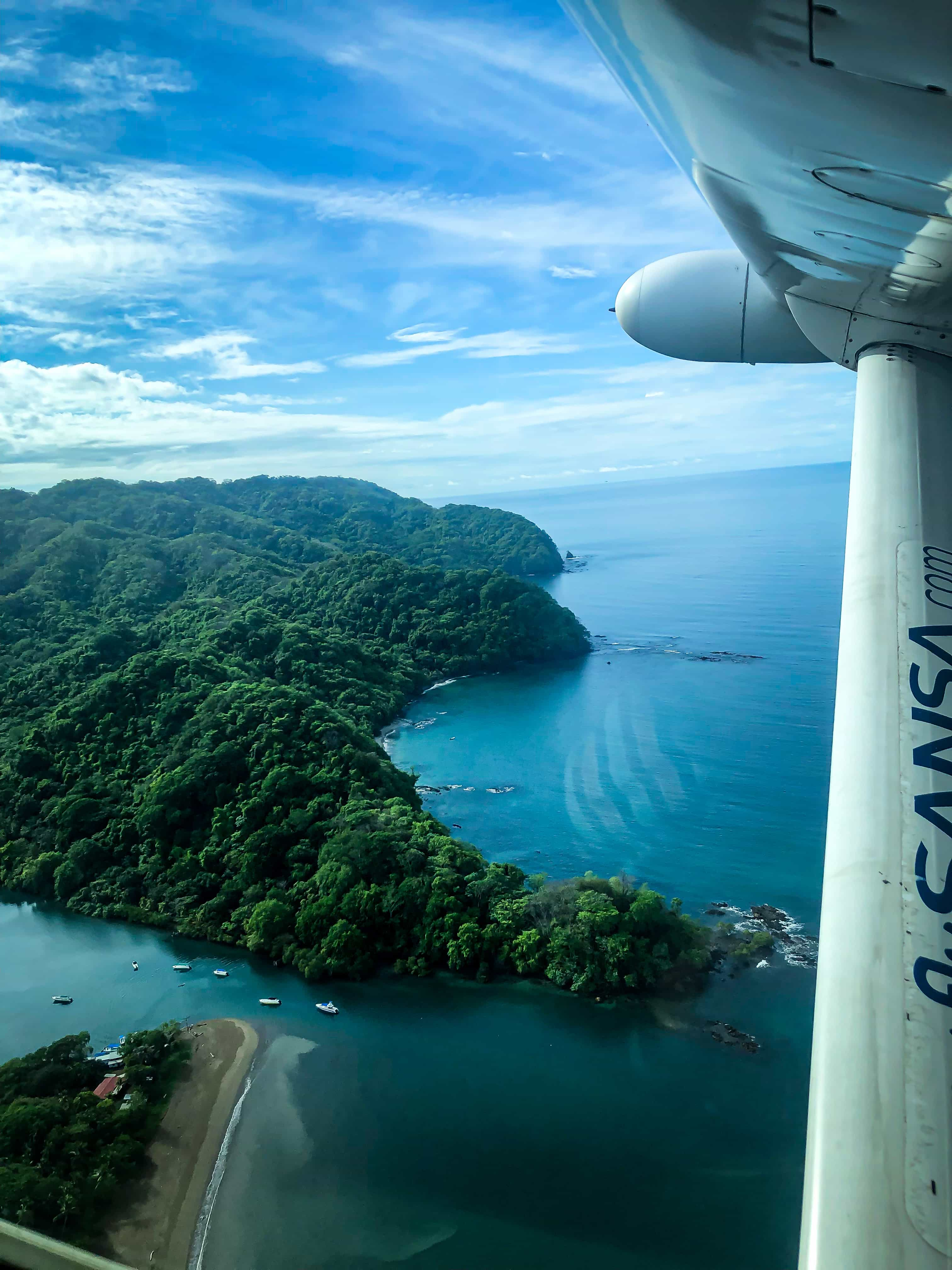flying to santa teresa