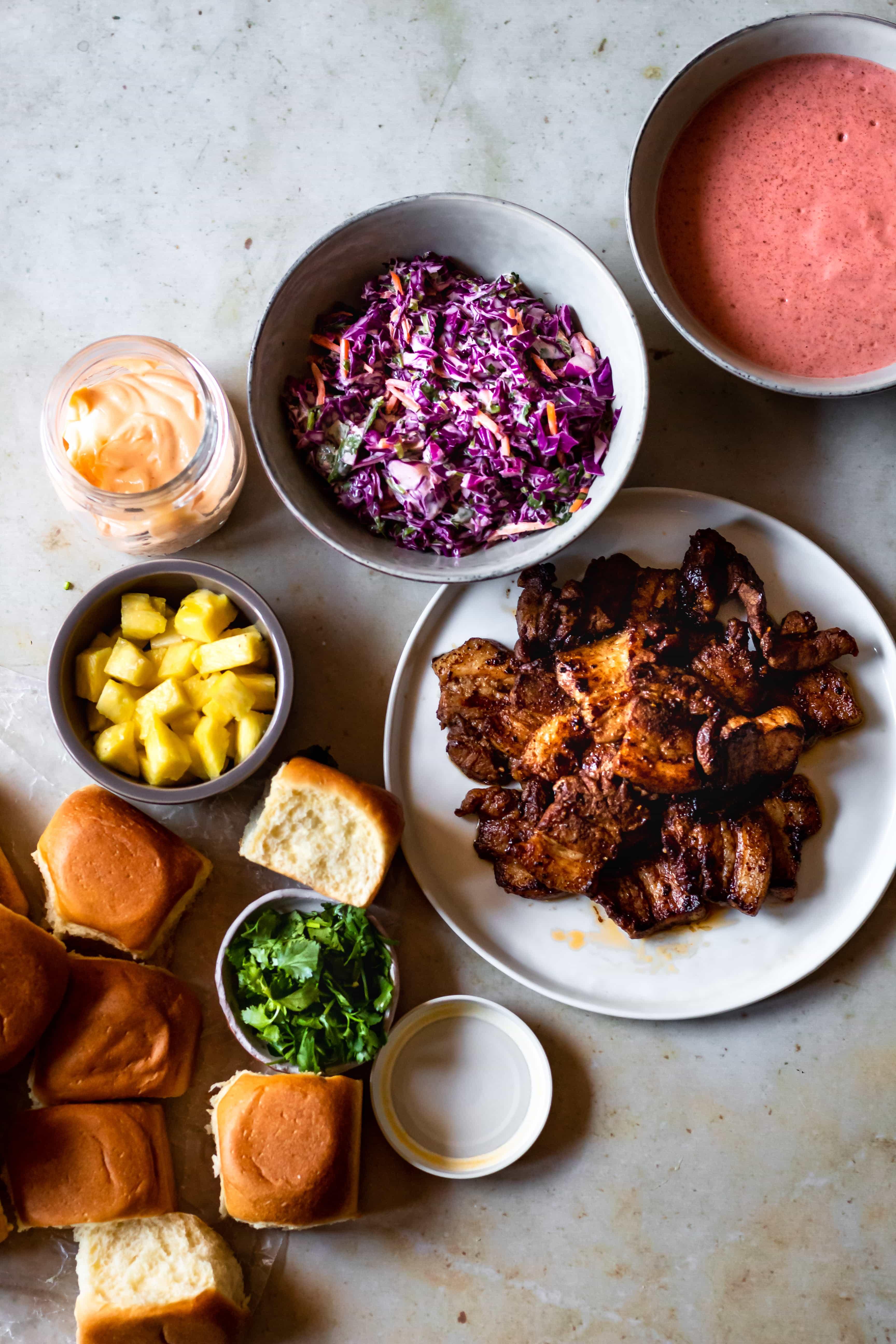 pork belly sliders ingredients