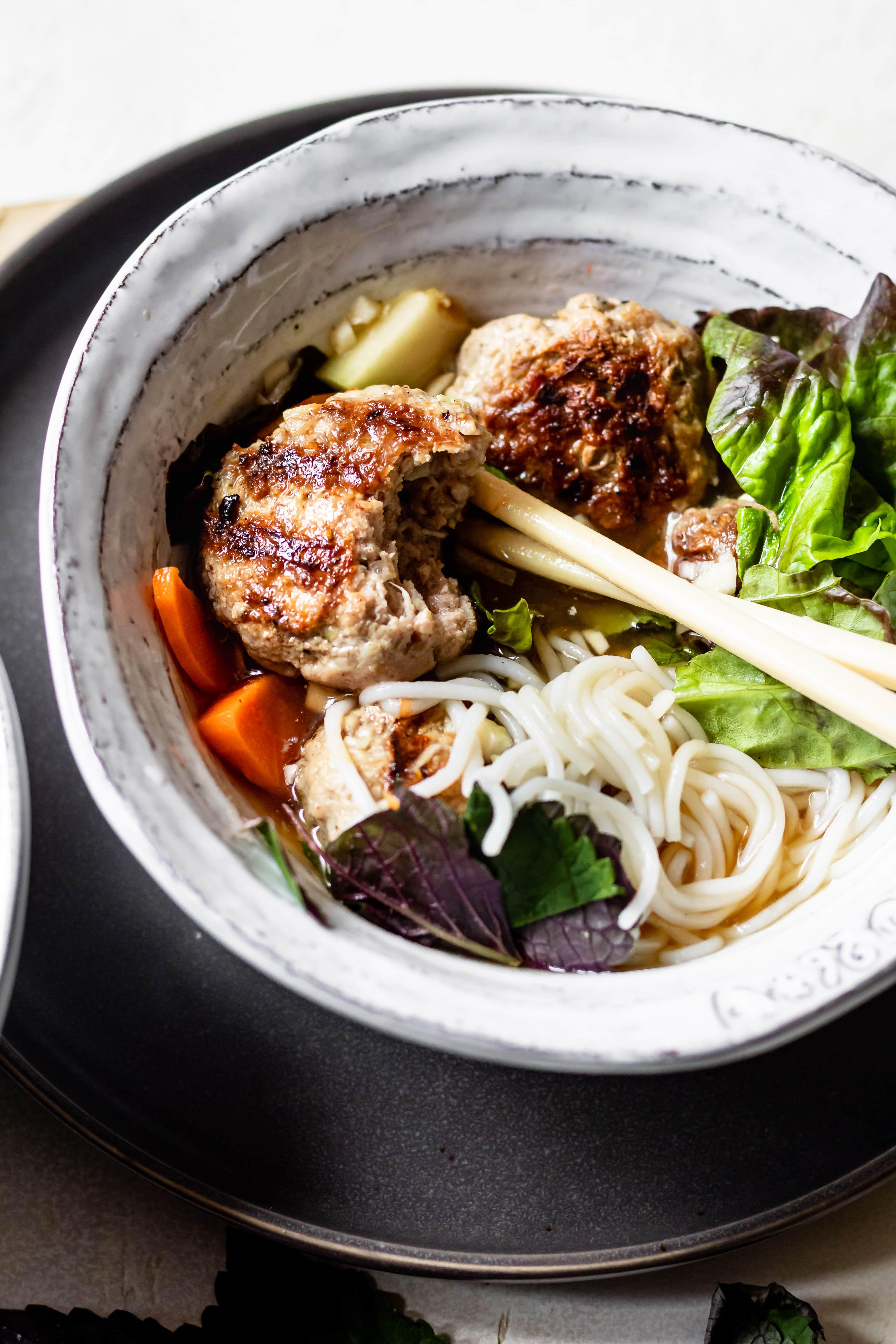 pork vermicelli bowl