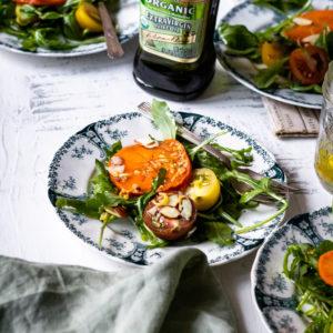 winter persimmon salad recipe