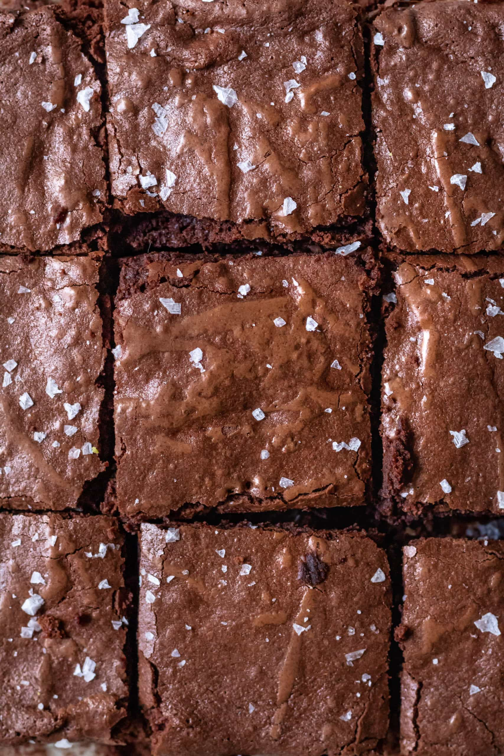 cut brownies