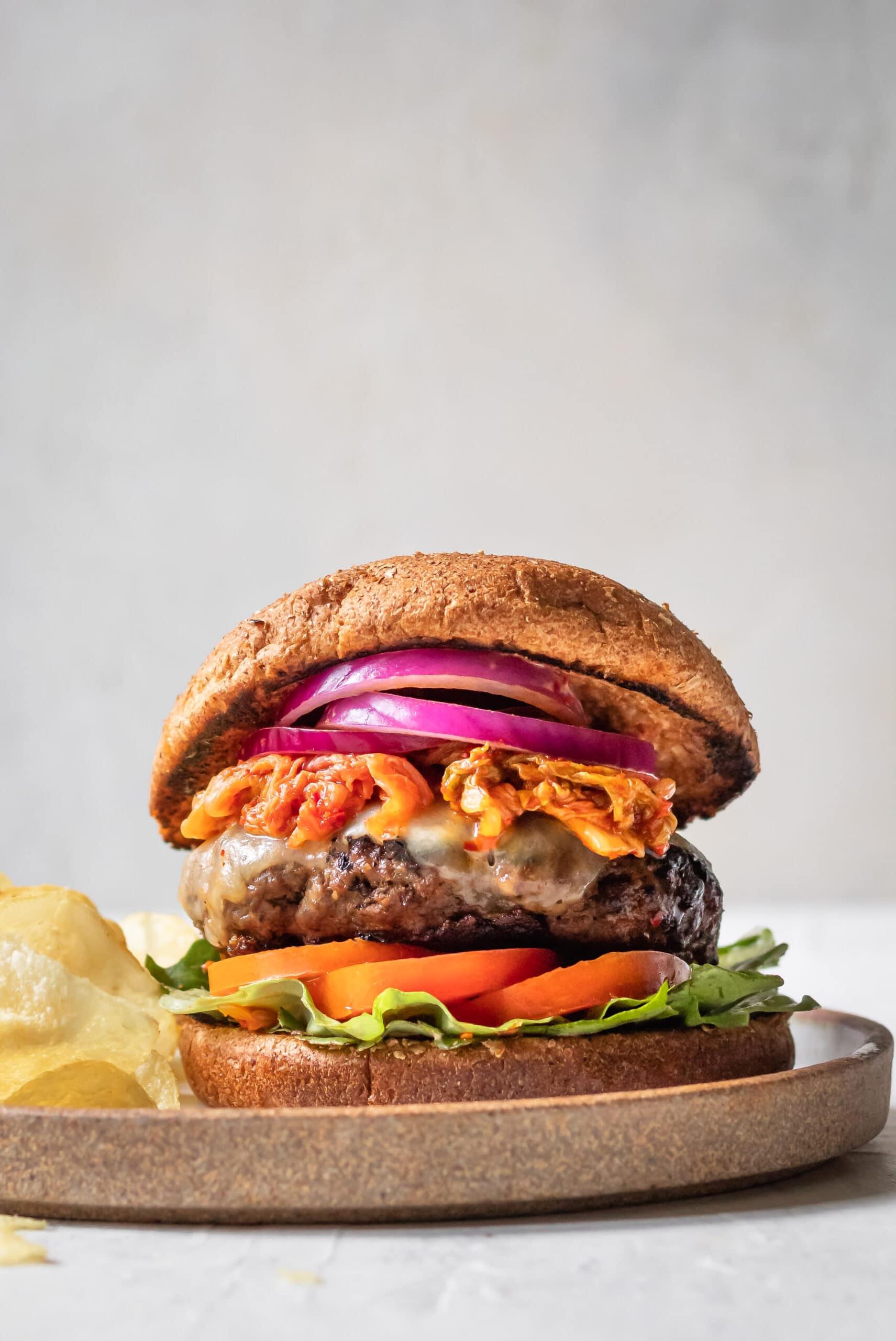 korean burger