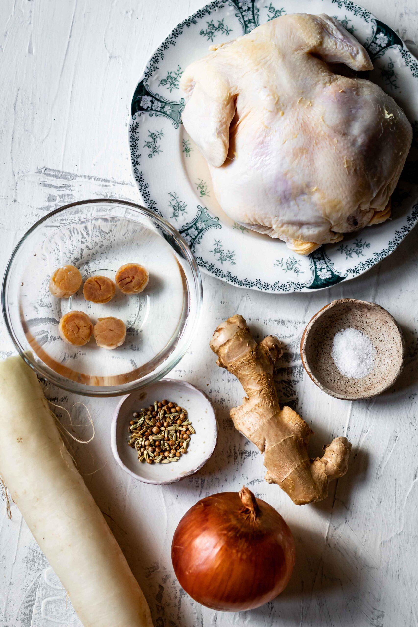 chicken pho ingredients