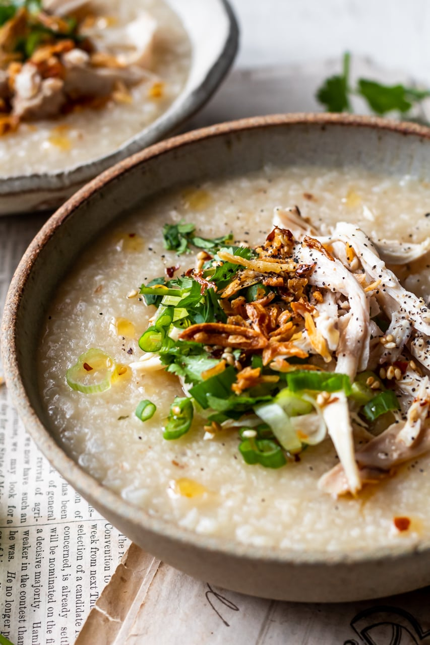 chicken congee