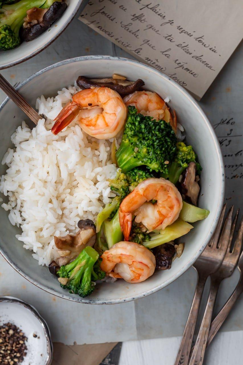 shrimp stir fry