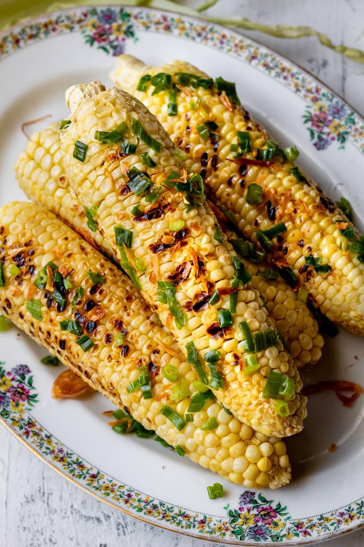 Vietnamese grilled corn