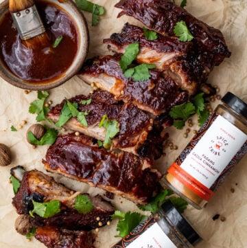 cinnamon coriander bbq ribs