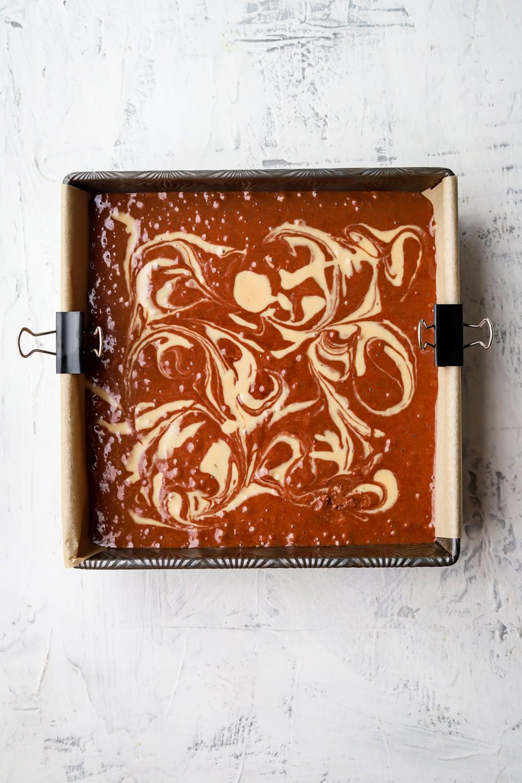 tahini mochi brownies