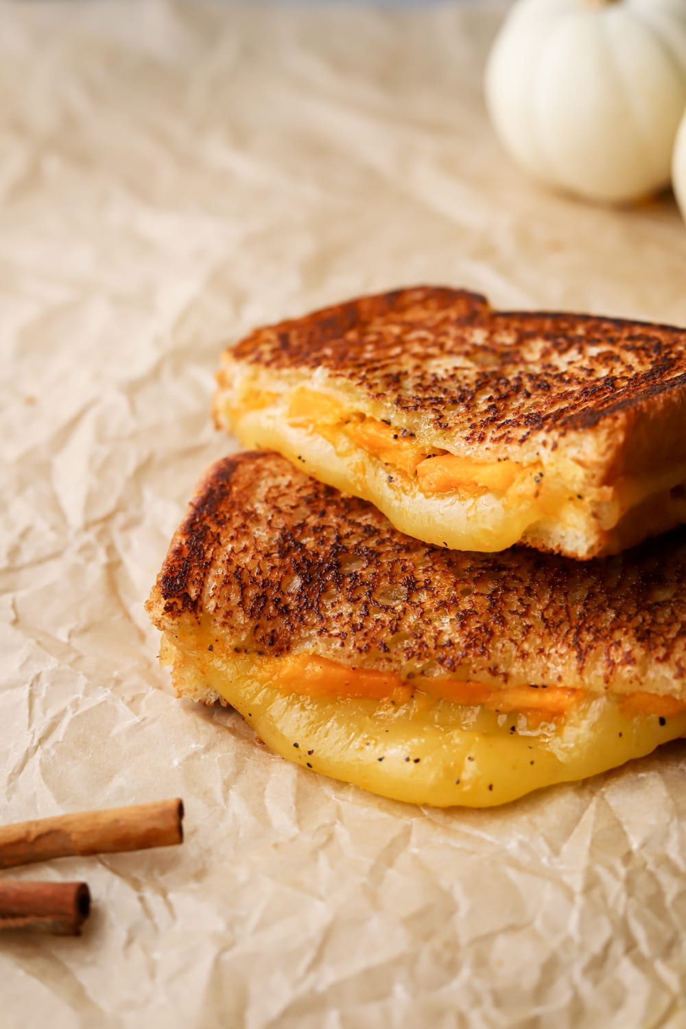roasted squash grilled cheese
