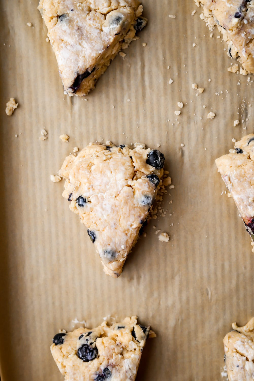 scones before baking